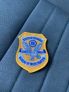 Georgia POLICE Patch: GEORGIA BUREAU OF INVESTIGATIONS (GBI) *