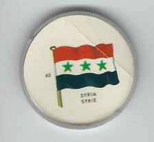 1963 General Mills Flags of the World Premium Coins #65 Syria