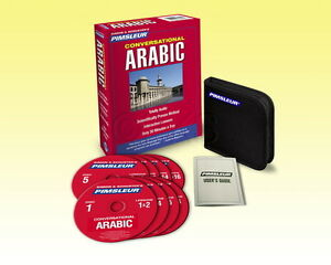 New 8 CD Pimsleur Learn to Speak Arabic Eastern Language (16 Lessons)