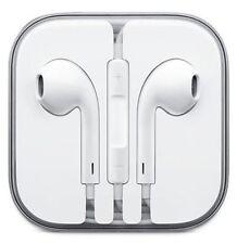 NUOVO AURICOLARE EARPOD per Apple iPhone 6/6 Plus/5/5 per cuffie con microfono vendita nel Regno Unito