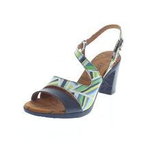 Sandali e scarpe multicolore Art con cinturino per il mare da donna