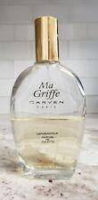 Vintage Ma Griffe Carven 3.3 oz Vaporisateur Perfume de Toilette 45 to 50% Full