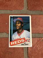 Eric Davis Rookie Card 1985 Topps #627 MLB Cincinnati Reds
