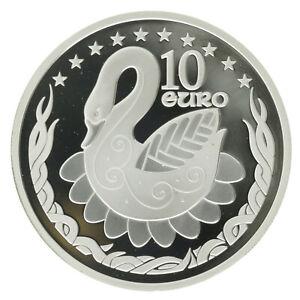Ireland - Silver 10 Euro Coin - 'EU Presidency' - 2004 - Proof