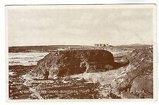 Rocks On The Shore - Bundoran Photo Postcard c1920s / Sligo