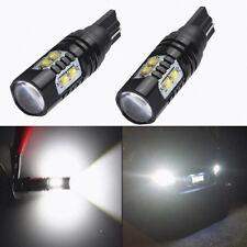 2X 50W 6000K CREE 921 912 T10 LED HID White Backup Reverse Light Bulb FT