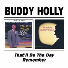 Buddy Holly That'll Be The Day/Remember 2on1 CD NEW SEALED Peggy Sue Got Married