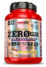 Amix Nutrition Zero Pro Protein Isolate 1000g Low Fat Soya Free Aspartame Free
