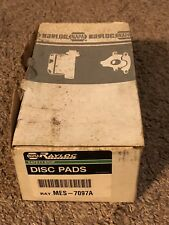 NOS Napa Rayloc MES-7097A Front Disc Brake Pads D170
