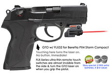 ArmaLaser GTO Beretta PX4 Storm Compact Red Laser Sight w/ FLX52 Touch Grip