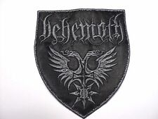 behemoth shield EMBROIDERED  PATCH