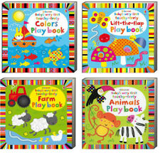 Usborne Babys Very First Touchy Feely Lift the Flap Play Book,Farm,Colors,Animal