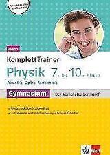 Klett KomplettTrainer Gymnasium Physik 7.-10. Klasse (2018, Taschenbuch)