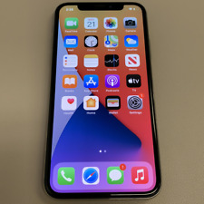 Apple iPhone X - 64GB - Silver (Unlocked) (Read Description) BH1115