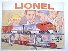 1960 LIONEL CONSUMER TOY TRAIN CATALOG - NEW OLD STOCK - MINT - EXCELLENT