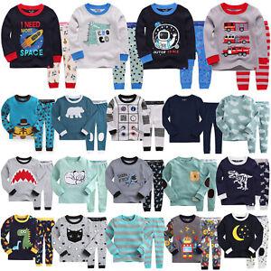 """40Style"" Vaenait Baby Top+Pants Toddler Boys Pjs Long Pajama Set 18M-12Y"