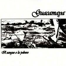 GUACAMAYA - IL SANGUE E LA POLVERE CD (2012) ITALIEN COMBAT-PUNK / PROTEST-PUNK