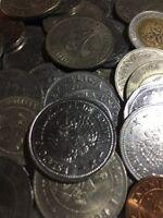 100 Gramm Restmünzen/Umlaufmünzen Bolivien