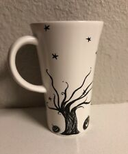 Starbucks Halloween Trick Or Treat Black And White Ceramic Cup 14 Oz 2007.Mint!