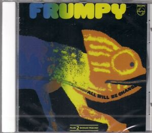 CD FRUMPY - All Will Be Changed + Bonus NEU rar Krautrock