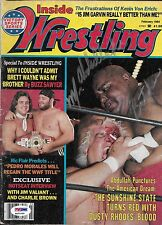 Abdullah the Butcher Signed Inside Wrestling Magazine PSA/DNA COA WWE Autograph