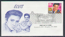 1993  ELVIS PRESLEY STAMP - GLEl #1 CACHET FIRST DAY COVER MEMPHIS, TN 38101