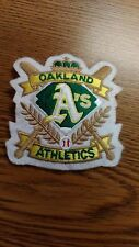 "MLB OAKLAND ATHLETIC'S 3"" X 3.5"" IRON ON PATCH NICE !"