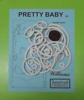 1965 Williams Pretty Baby pinball rubber ring kit