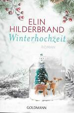 Winterhochzeit Roman von Elin Hilderbrand 1.Auflage November 2017