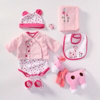 "Baby Doll outfit Set Doll Kits Reborn Suitable for 22-24"" Reborn Baby Dolls"