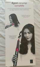 Dyson Airwrap Complete hair styler in black/purple USA plug new 110v
