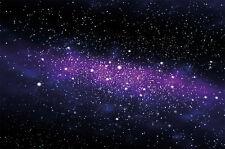 Fototapete Sterne - Wandbild Dekoration Kinderzimmer Weltraum Stars Galaxy Sky