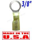 "(25) 3M HEAT SHRINK RING TERMINALS MARINE WIRE 10-12 GAUGE 3/8"" STUD - USA MADE"