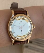 Omega Constellation 1958 Piepan Deluxe Dial 18K Rose Gold Watch RARE