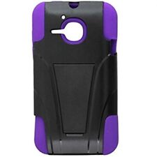 Phone Case with Y Stand for Alcatel One Touch Evolve Purple/Black