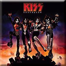 "KISS fridge magnet 3"" square DESTROYER free UK P&P"
