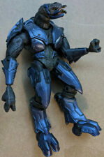 Halo 3 Series 3 Elite Combat Blue McFarlane Action Figure Good-Great Condition