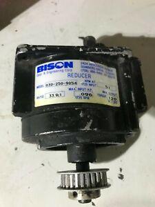 Bison 030-250-9054 Inline Gear Reduction Box Speed Reducer Gearbox