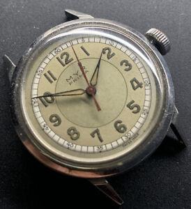 1940s MYR Prima Two Tone Radium Dial Bumper Automatic Waterproof Case