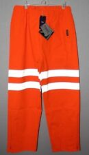 NWT Neilsen Gore-Tex Hi Vis Pants Orange Sz 2XL Outerwear Reflective Motorcycle