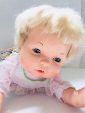 Vtg OOPSIE DAISY Baby Doll Crawl Cry Talk 1988 Tested -works