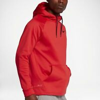 NIKE THERMA PULLOVER TRAINING HOODIE UNIVERSITY RED 826671-657 MENS SIZE XL-TALL