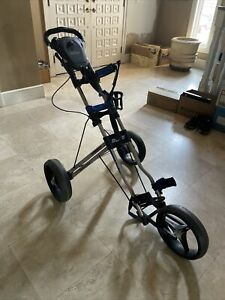 bag boy push cart, collapsible