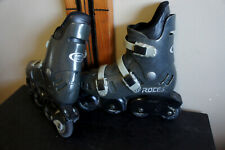 Low Use ROCES Mens 8 Amsterdamn Inline Rollerblades Skates