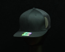 Plain Baseball Cap Adjustable Snapback Trucker Mesh Army Flat Hip Hop Camo Hat