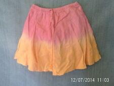 Girls 2 Years - Pink & Orange Summer Skirt - Gap