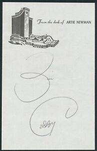 """BILL COSBY COMEDIAN AUTOGRAPH AUTO SIGNED AUTO 5"""" x 8"""" CUT"""