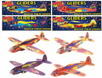 6 Super Hero Gliders - Styrofoam Planes Pinata Toy Loot/Party Bag Fillers Weddin