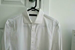 """Tommy Hilfiger Long Sleeved Business Shirt Size M, 15.5"""" collar"""