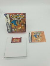 GAME BOY GAMEBOY ADVANCE GBA BOXED BOITE POKEMON FIRERED FIRE VERSION BOOTLEG